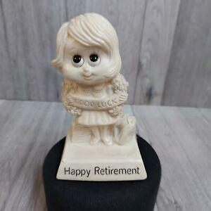 Vintage 1975 Russ Wallace Berries Figure # 9208 Happy Retirement