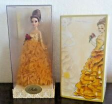 2011 Disney BELLE PRINCESS DOLL Designer Collection #7992 of 8000 New in Box