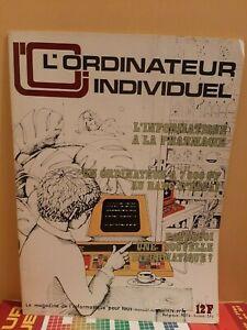 Magazine l'ordinateur Individuel n° 1 Octobre 1978