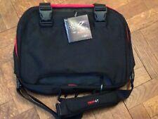 Tripp GTBlack with RedTwofold laptop Shoulder bag