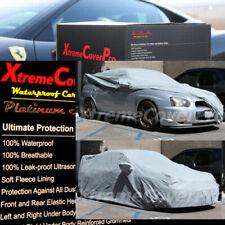 2013 2014 SUBARU Impreza WRX STi w/STi Spoiler Waterproof Car Cover GREY W/MIRRO