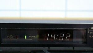 Pioneer DT-555  Audio Digital Timer Schaltuhr Uhr Alufront EU Model Top Zustand