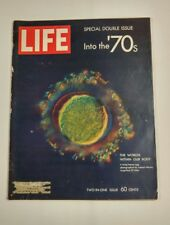 Vintage LIFE Magazine 1970 January 9 Into the 70s Hello Dolly People Pollution