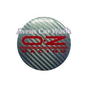 TAPPO COPRIMOZZO CAP BADGE CENTER OZ RACING WHEELS 54mm NEW ORIGINALE M582
