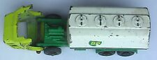 Lesney Matchbox No. 25 Bedford BP Petrol Tanker - paint worn off in places.