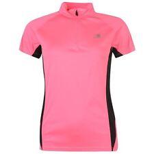 Karrimor 1/4 Zip Ladies Running Fitness Active Wear top shirt Pink All sizes