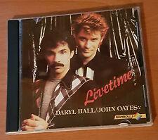 Daryl Hall & John Oates – Livetime Rare RAINBOW CD Australian issue Rich Girl