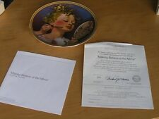 Norman Rockwell Making Believe at mirror Collector Plate Knowles + box & Cert