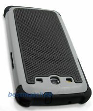 for Samsung galaxy s3 gray black triple layers hybrid hard soft case i9300 S III