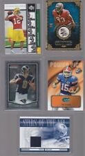 HUGE LOT  CARD COLLECTION AUTO JERSEY PATCH FOOTBALL NEWTON BRADY TEBOW