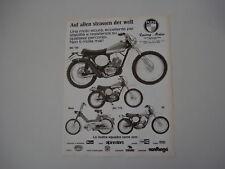 advertising Pubblicità 1975 PUCH MC 125/175/50/MAXI