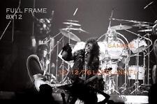 Kiss 1976 Group Photo 2 8 X 12 Lakeland,FL Shock Me