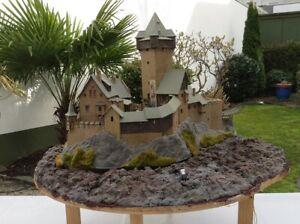 Kibri 39010 H0 Burg Falkenstein in Kärnten Diorama