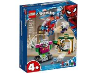 Lego 76149 Marvel Super Heroes Spiderman The Menace Of Mysterio Brand New Sealed