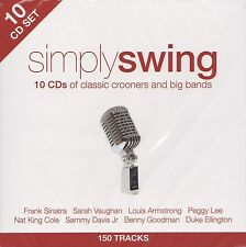 [BRAND NEW] 10CD: SIMPLY SWING: CLASSIC CROONERS AND BIG BANDS