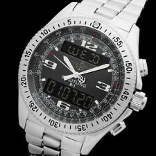 BREITLING B-1 A68362 PILOT GMT ALARM CHRONOGRAPH CHRONOMETER SAPPHIRE HERREN UHR