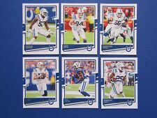2020 Donruss Football  Indianapolis Colts Team Set - Mack, Rivers, Hilton  etc