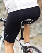 Lululemon Presta Padded Cycling Shorts Black Sz 4 NEW! Super Cute!