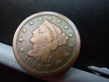 1846 USA Large 1 Cent Coin