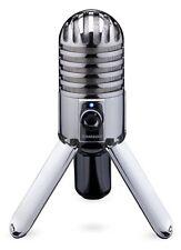 Samson Meteor USB Microphone - Chrome