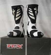 TCX SS SPORT MOTORCYCLE BOOTS - WHITE - 35 - RRP £119 OUR PRICE £49.99!