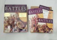 Great Battles of Alexander Big Box Set PC Game Strategy