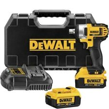 DEWALT DCF880M2 20-volt MAX Lithium Ion 1/2-Inch Impact Wrench Kit with Detent P