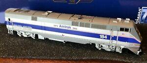HO Athearn Genesis ATHG81302 Amtrak Heritage P42DC #184 Phase IV DCC/Sound