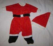 Mothercare Santa Suit Sleeper & Hat size NB