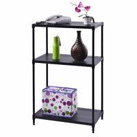 3 Layer Rect Shelf Storage Rack Furniture Bathroom Kitchen Organizer Steel New