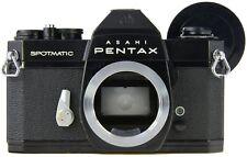 PENTAX Spotmatic SPII - Black - New Seals -