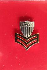 Uscg Us Coast Guard Reduced Size E-6 Po1 1St Cl Petty Officer Garrison Cap Badge
