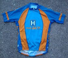Team Ride 24/7 2006 Cycling Jersey ~ Medium M ~ Iowa Orange Blue 3 Pocket ATAC