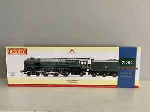 R3191 Hornby OO Gauge Duke Of Gloucester 71000 Loco Special Edition