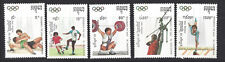 CAMBODGE - SERIE TIMBRES JEUX OLYMPIQUES 1992 BARCELONE - Neufs sans charnière