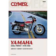 Clymer Workshop Manual Yamaha TX650 XS1 XS2 XS650 1970-1982 Service Repair