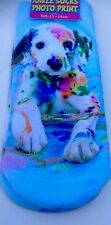 Dog paint socks,size 4-7, trainer,photo print,3D,womens,fashion,fun