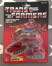 Vintage Sellada G1 Transformador Mini-bot Warpath. Hasbro Transformers