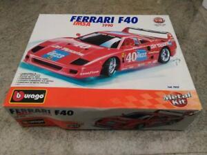 Ferrari F40 1/18  IMSA 1990  Burago cod. 7032 in metallo con scatola