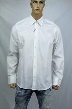 Authentic Valentino Roma Men's dress slim fit white cotton shirt US 17