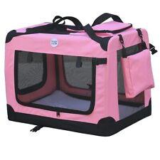 HugglePets Medium Fabric Pet Carrier - Pink