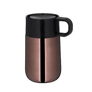 WMF Kaffeebecher / Isolierbecher IMPULSE 0,3 Liter Kupfer mit Henkel