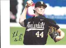 KYLE WRIGHT VANDERBILT COMMODORES SIGNED 8X10 PHOTO W/COA