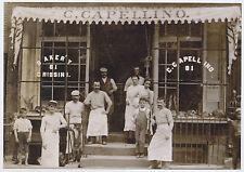 1915 Carlo Capellino Italian Bakery 81 Sullivan St New York NYC MODERN Post Card