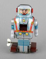 Noguchi (Japan) Tinplate Clockwork Mechanical Spaceman Robot 1960s-70s