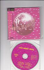 Barry White, Love Unlimited, Love Makin 'Music Japan CD + OBI