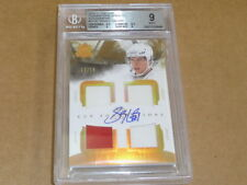 2010/11 UD THE CUP FOUNDATIONS SIDNEY CROSBY AUTOGRAPH/AUTO JERSEY /15 BGS 9