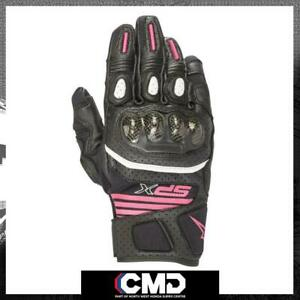 Alpinestars SP-X Air Carbon V2 Stella Summer Ladies Motorcycle Gloves Fuchsia
