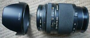 Sony Alpha 18-250mm DT AF Zoom Lens  8 contact version SAL18250