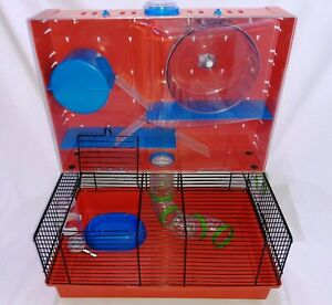 Ferplast Olimpia Fun Hamster Small Rodent Cage in GREAT Condition + Accessories!
